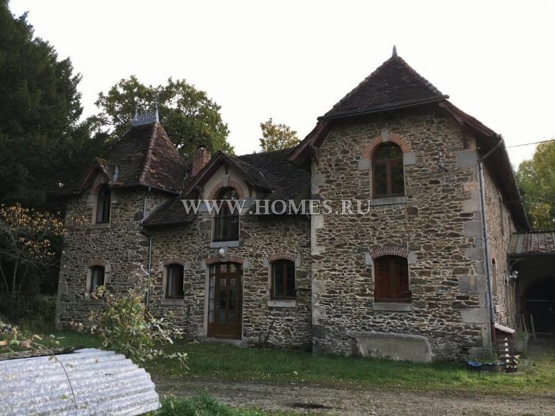 Старинный замок в Лимузене