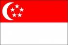 Флаг страны Сингапур