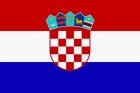 Флаг страны Хорватия