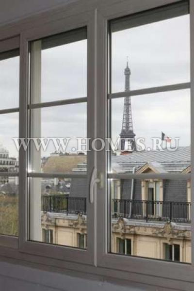 Прекрасный пентхаус в Париже