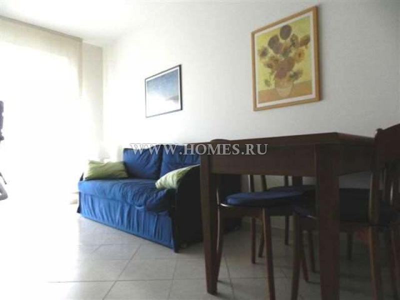 Сан – Ремо, уютный апартамент в новом комплексе