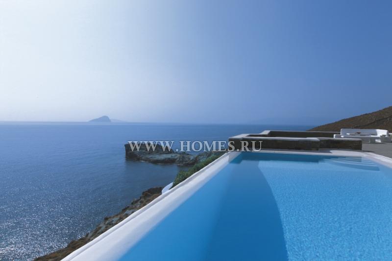 Роскошная вилла на острове Кифнос