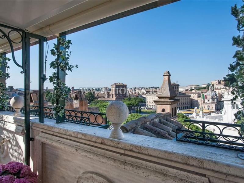 Роскошный пентхаус в центре Рима