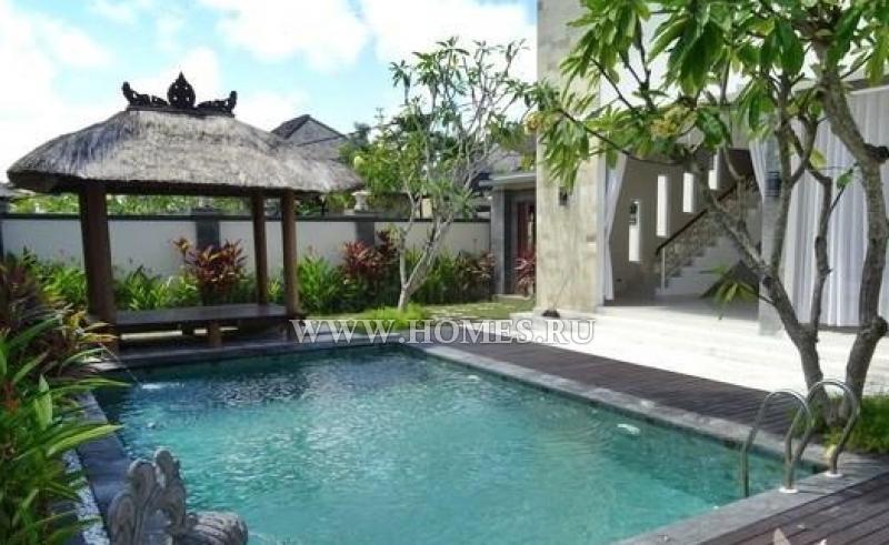 Современная вилла на полуострове Букит, Бали
