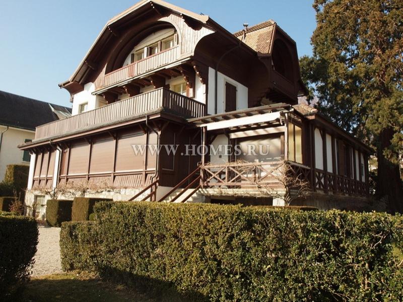 Красивый дом в Швейцарии
