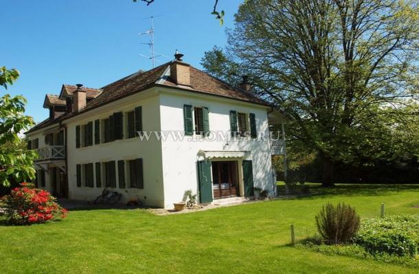 Очаровательный дом в Швейцарии