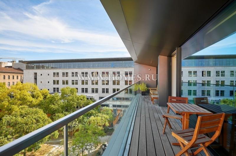Современная квартира в центре Берлина