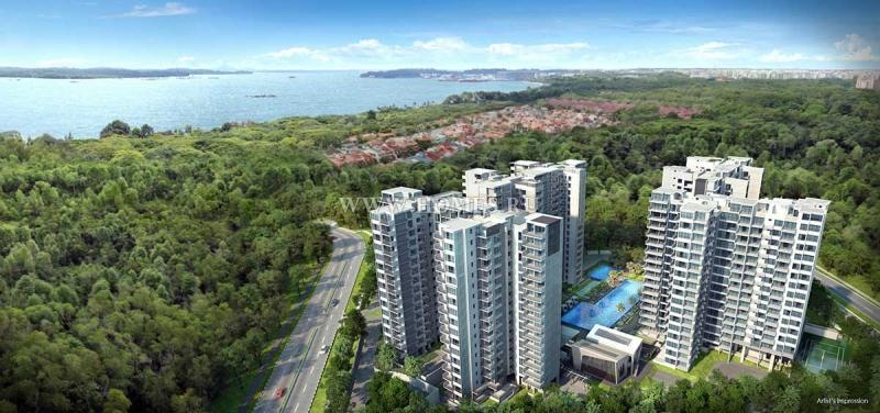 Апартаменты неподалеку от моря в Сингапуре