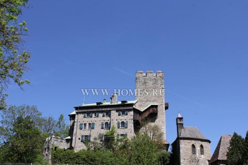 Средневековая крепость в Каринтии