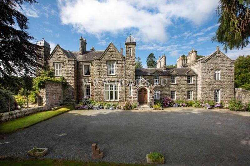 Уникальное поместье на юго-западе Шотландии