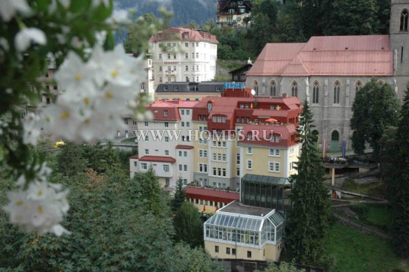 Красивый отель на курорте Бад Гаштайн