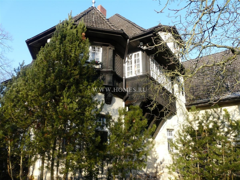 Очаровательный сельский дом в Берлине