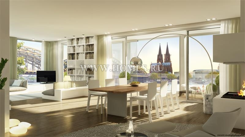 Шикарные апартаменты в Кёльне