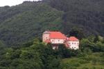 Старинный замок в городе Славетич