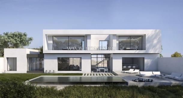 Вилла в стиле модерн на побережье Коста Бланки