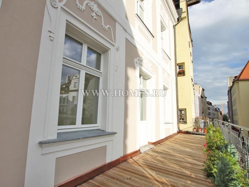 Стильные апартаменты в Регенсбурге