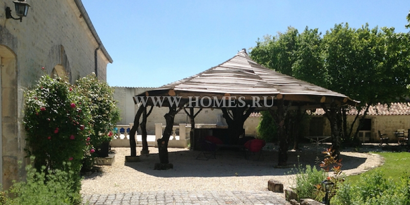 Роскошный особняк в регионе Коньяк