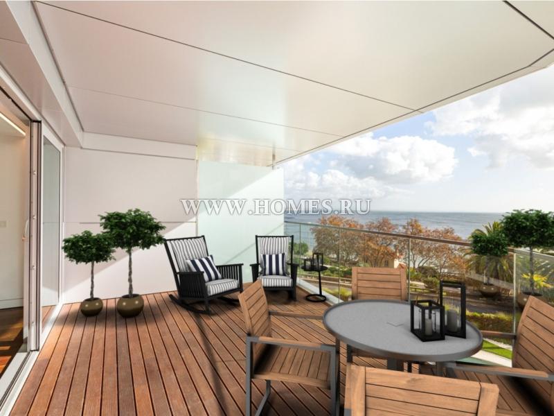 Современный апартамент рядом с океаном в Эшториле