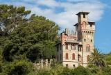 Величественный замок в Лигурии