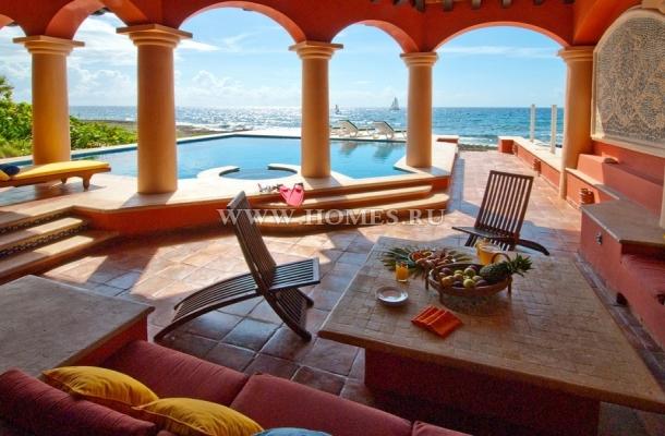Замечательная вилла у Карибского моря в Мексике