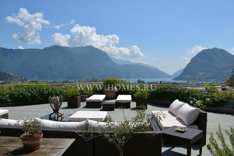 Отличные апартаменты в  городе Лугано