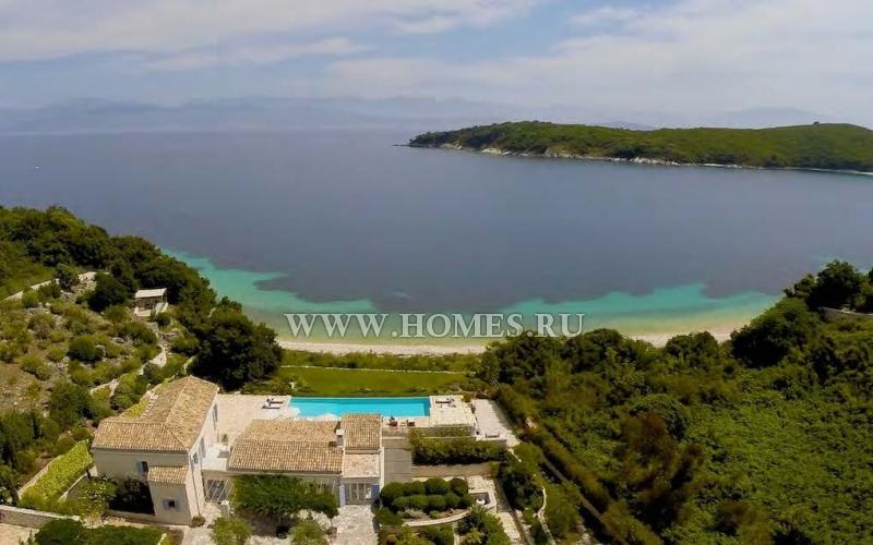 Солнечная вилла на острове Корфу