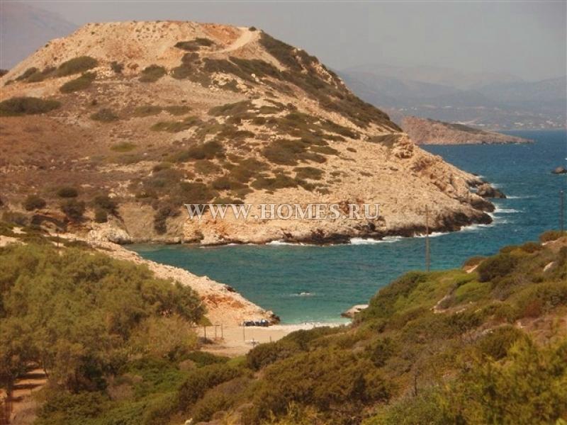 Участок земли у моря на Крите