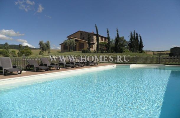 Симпатичный тосканский дом