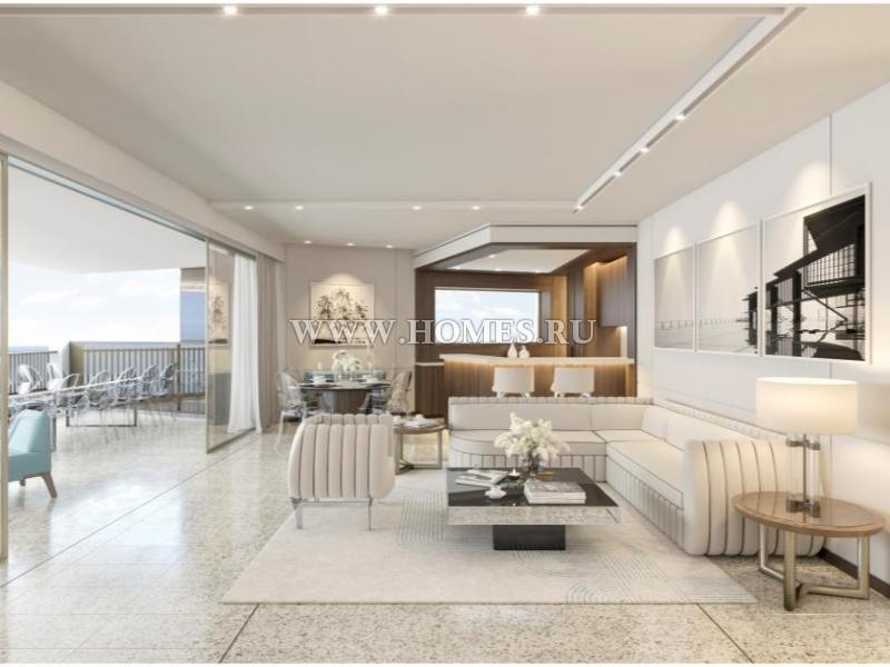 Монако, современный апартамент на 19 этаже
