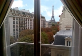 Шикарные апартаменты с видом на Эйфелеву башню
