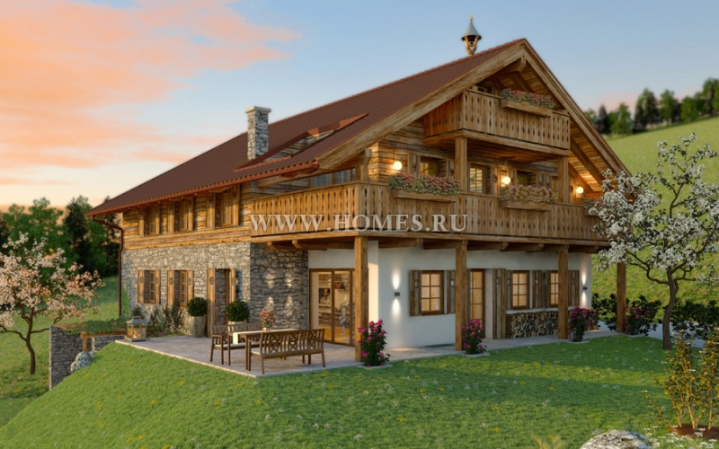 Потрясающий дом неподалеку от Зальцбурга