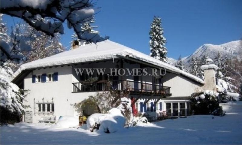 Красивый дом в Гармиш-Партенкирхен