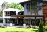 Современный дом у реки Лиелупе, Юрмала