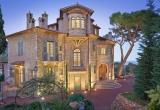 Великолепный замок на холмах Ниццы