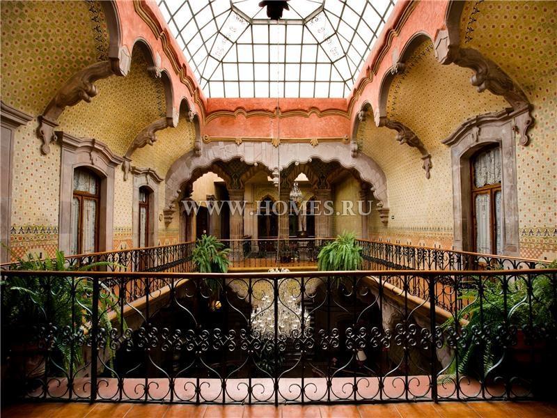 Уникальный городской особняк в Сантьяго-де-Керетаро