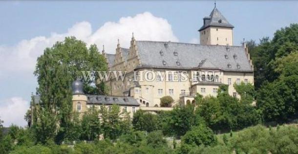 Великолепный замок в Баварии