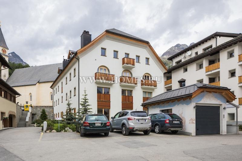 Новый апартамент рядом с Санкт Морицем