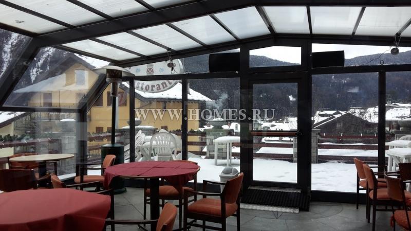 Великолепная гостиница в Альпах