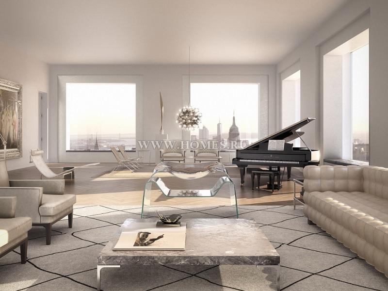 Шикарные апартаменты в Нью-Йорке