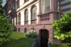 Величественный дом во Франкфурте