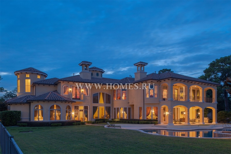 Впечатляющий дом в Хьюстоне