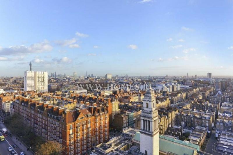 Современный пентхаус в Лондоне
