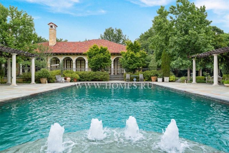 Изысканное поместье в Далласе