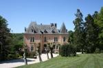 Великолепный замок в Лимузене