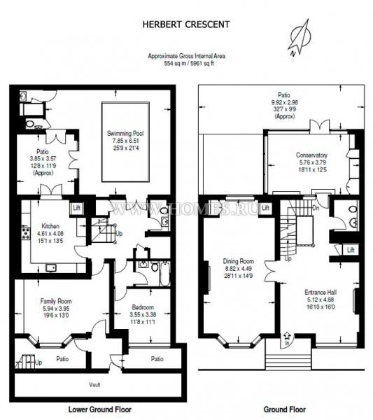 Великолепный дом в самом сердце Найтсбриджа