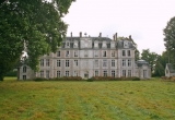 Исторический замок в городке Эр