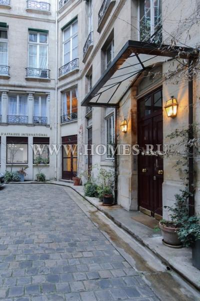 Восхитительная квартира в центре Парижа