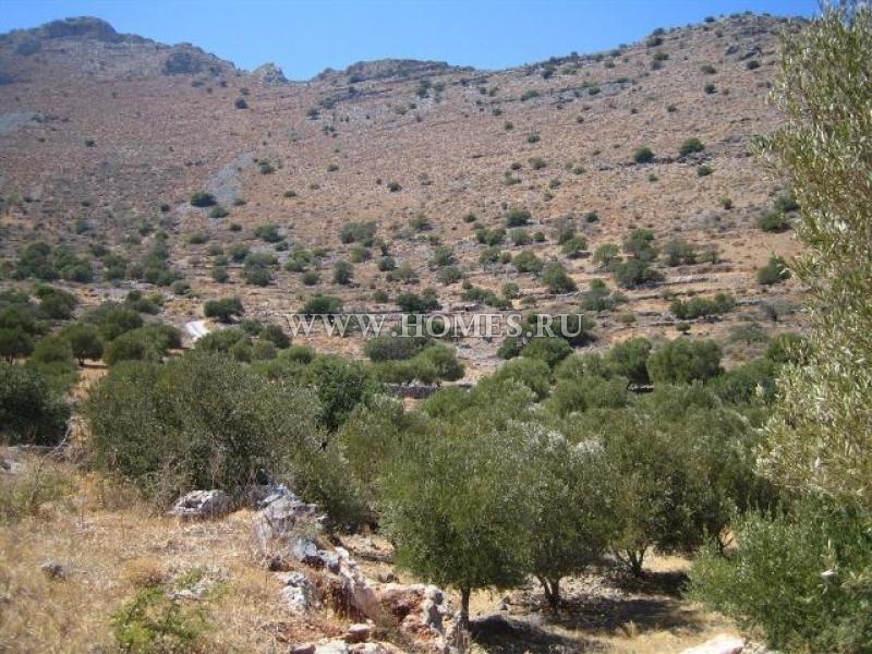 Многоуровневый участок недалеко от Элунды