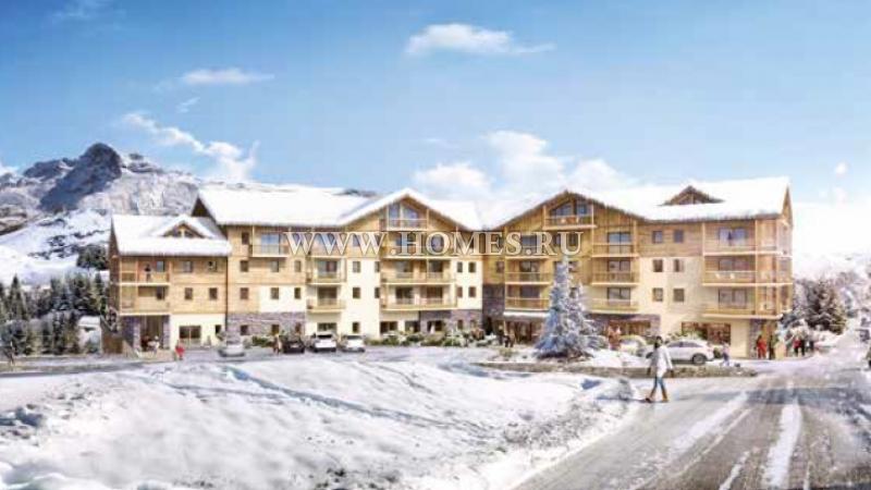 Новый уютный жилой комплекс в Савойе