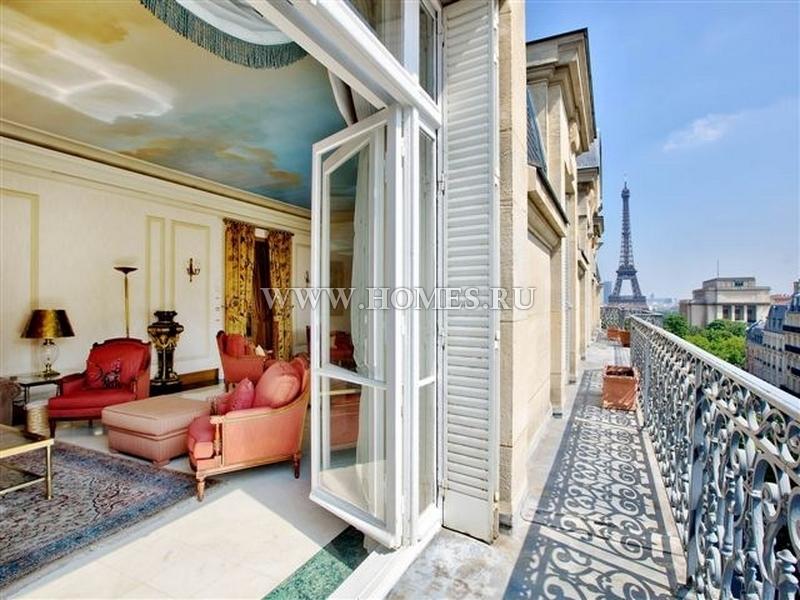 Роскошный дуплекс в 16 округе Парижа